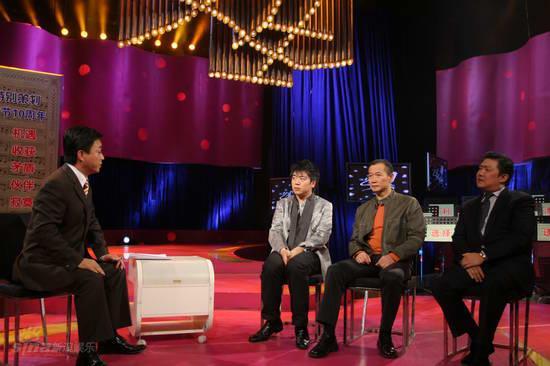 图文:《艺术人生》录制现场--朱军集体访问