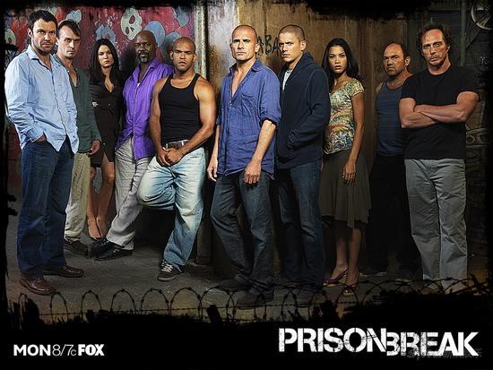 《越狱》第三季开播美国冷清中国狂热(附图)