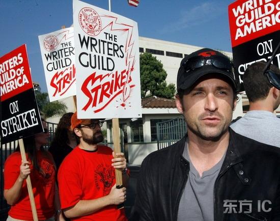 组图:《实习医生格蕾》主演加入编剧示威阵营