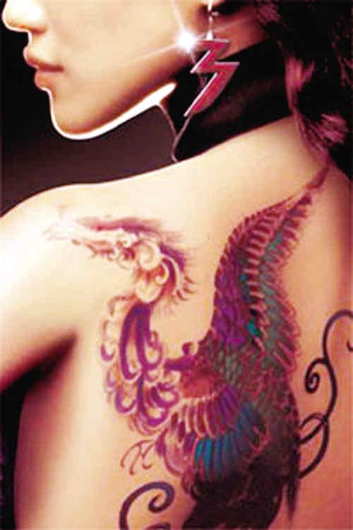 佛教双手合十莲花纹身
