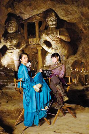 李连杰确定演《木乃伊3》杨紫琼巫女造型曝光