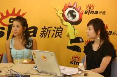 韩星米娜独家做客聊新碟现场秀性感舞蹈(组图)