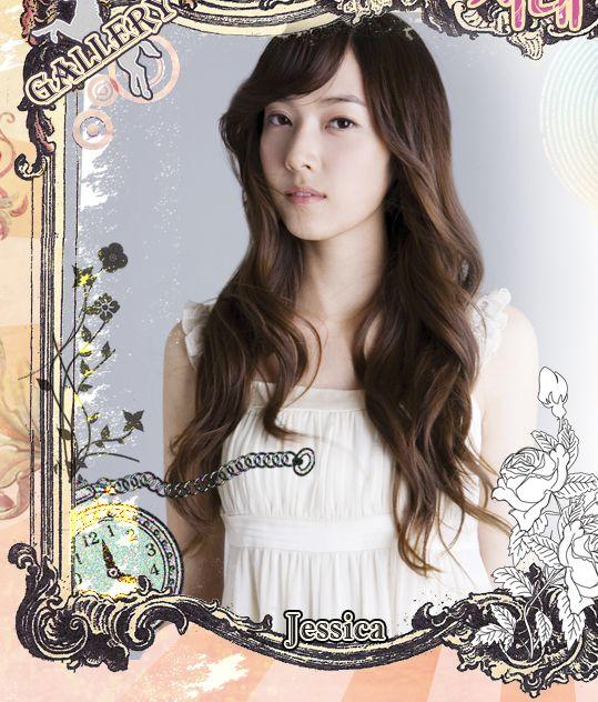 图文:韩国组合三代变迁之少女时代-Jessica