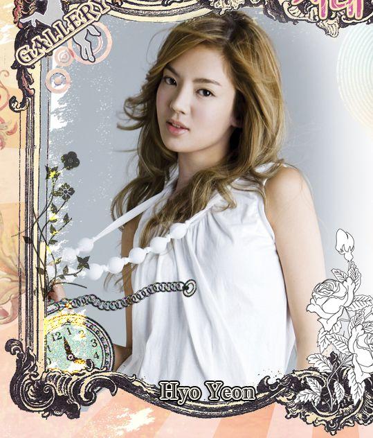 图文:韩国组合三代变迁之少女时代-HyoYeon