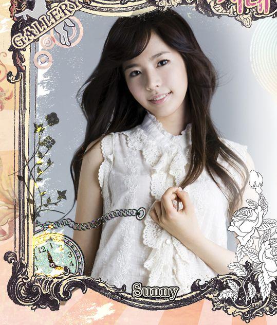 图文:韩国组合三代变迁之少女时代-Sunny