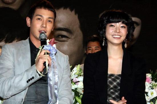 图文:韩剧《我爱你》发布会--Fany和朴惠英