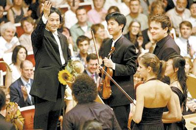 欧洲青年古典音乐节八月抵京 汤沐海童子军巡演