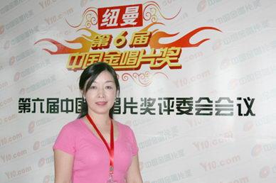 魅力女评委成第六届中国金唱片奖最靓丽风景