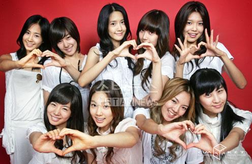 少女时代主打曲《重逢的世界》成最韩热门歌曲