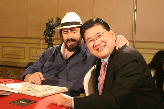一个意大利人在中国-记男高音歌唱家帕瓦罗蒂