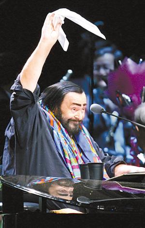 高音之王帕瓦罗蒂辞世病危期间曾获文化奖项