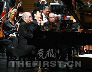 北京国际音乐节郎朗师徒联手赢得常鸣掌声(图)