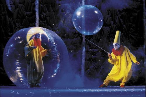资料图片:舞台剧《下雪了》--黄色小丑