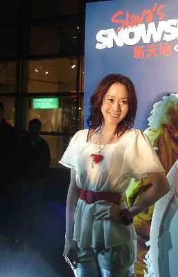 许慧欣出席舞台剧宣传活动伤愈筹备新专辑(图)