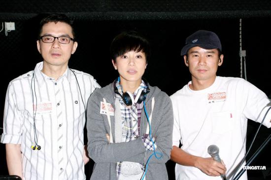 林海峰彩排音乐会 何韵诗黄耀明爱讲冷笑话(图)图片