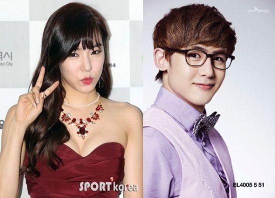 2PM成员尼坤被疑与少女时代Tiffany分手