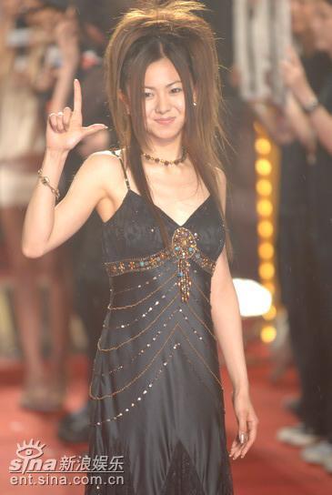 图文:仓木麻衣上用中文向歌迷问候