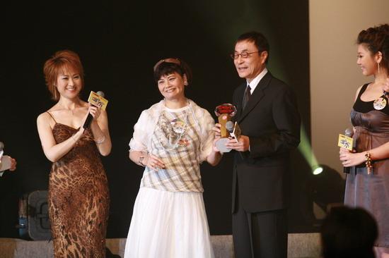 图文:刘家昌获颁新城国语力贡献大奖
