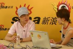 胡彦斌做客畅聊奥运音乐和体育一样有活力(图)
