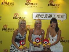 英国美少女组合CLEA独家做客努力练唱中文歌