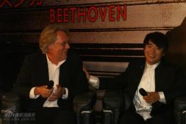 钢琴王子郎朗发布首张贝多芬协奏曲专辑(组图)