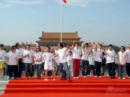 组图:李宇春献唱奥运倒计时演出激昂感染众人