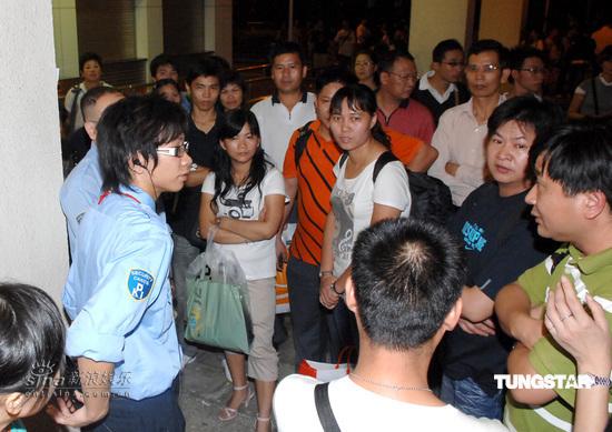 组图:张学友香港演唱会临时取消歌迷失望而归