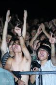 组图:九寸钉乐队完美演出彻底征服流行音乐节