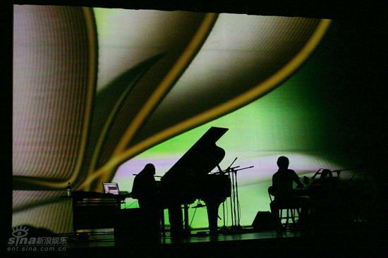 图文:北欧音乐节开幕式--梦幻背景