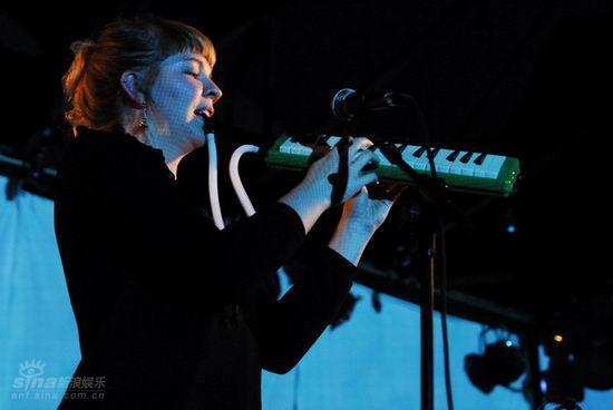 图文:北欧音乐节第二晚--基拉