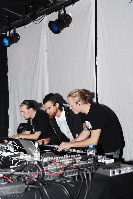 图文:北欧音乐节第三晚--MiNiMa