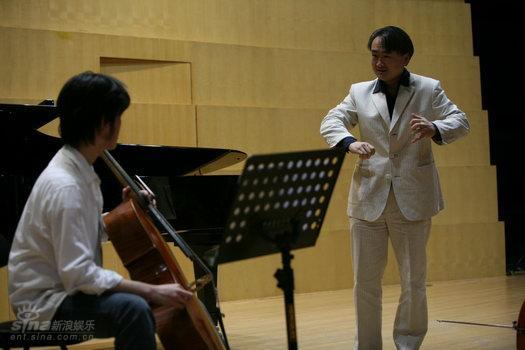 图文:北京国际音乐节大提琴家王健大师课(4)