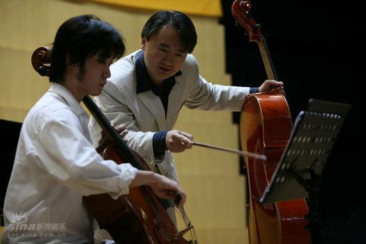 图文:北京国际音乐节大提琴家王健大师课(6)