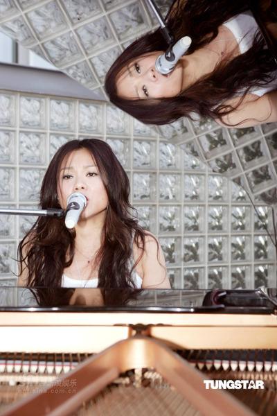 组图:蔡健雅新歌演唱会彩排要给歌迷好音乐