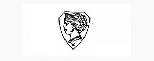 瑞士护国女神helvetia侧面人头像(俗称女皇头)