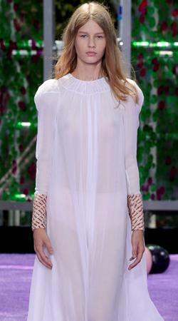 Christian Dior 2015秋冬高订:伊甸园里的紫罗兰人生