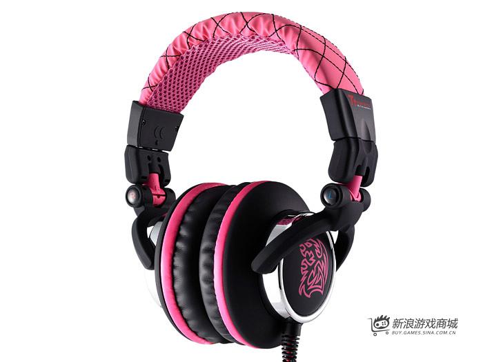 曜越Ttesports 潮傳奇 HT-DRA007OEPKCN 耳机(粉色)