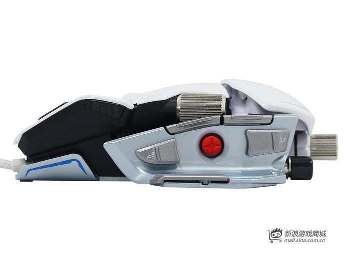美加狮 M.M.O.7 雪妖版 双眼激光游戏鼠标