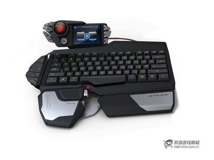 美加狮 S.T.R.I.K.E.7 终结者可变形可编程超级键盘(带触摸屏)