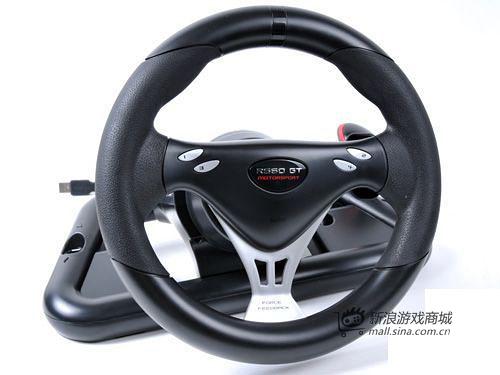 美加狮 赛钛客 R660 GT PRO加强版力反馈方向盘