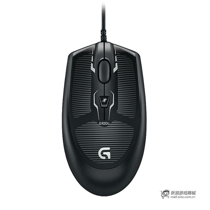 罗技游戏鼠标 G100S