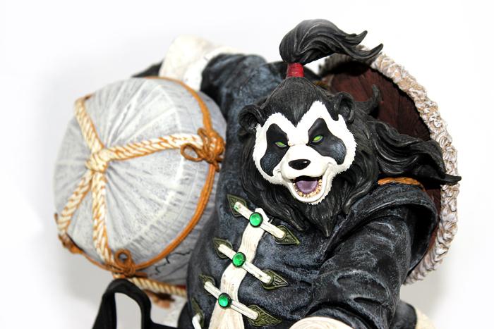 熊猫人酿酒师 DC手办