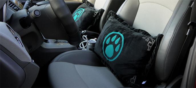 熊猫人之谜 LOGO 抱枕