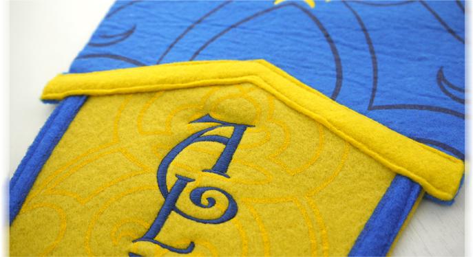 部落 羊毛 三角战旗