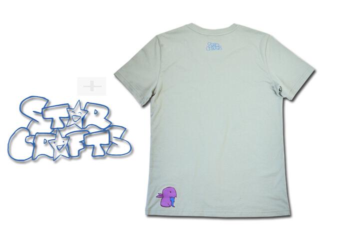 爆笑星际主题T恤 灰色