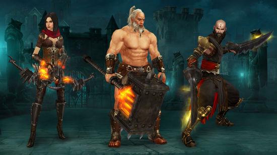 《暗黑破坏神3》:《德拉诺之王》武器幻化