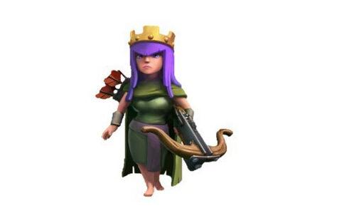 部落冲突coc弓箭女王升级详细数据