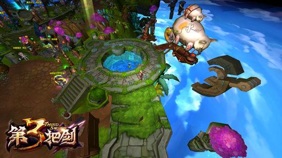 集MOBA和RPG之大成 第三把剑的潜力