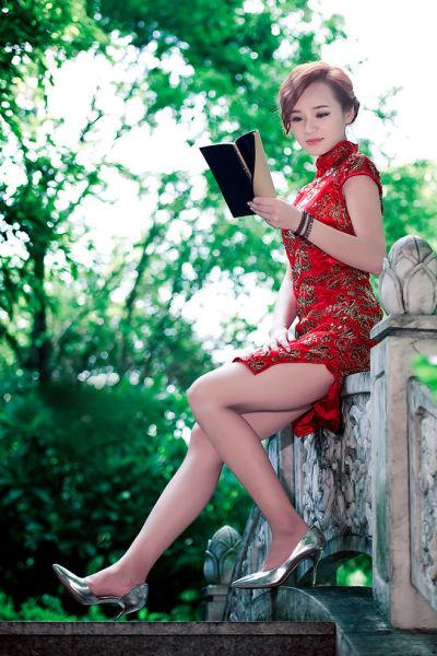 cgwr美女图:旗袍过节福利