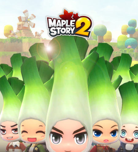 好想戴这么萌的绿帽子 《冒险岛2》大葱帽子曝光